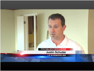 Justin Schuder, Co-Owner, J & M Remodel and Repair, Seattle, WA