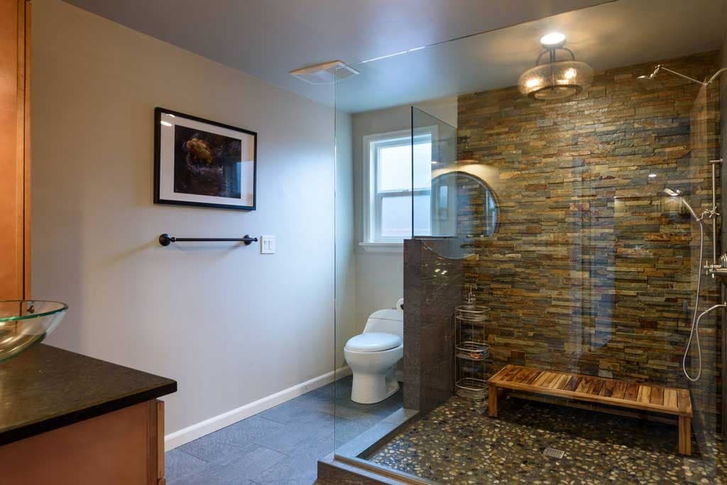Bathroom-entry-view-1024w - J-and-M-Remodel-Animal-Planet-project - Renton 98058