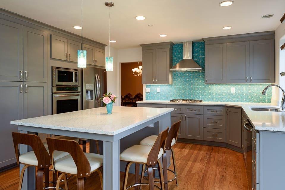 Burien Kitchen Remodel with Stunning Statement Tile