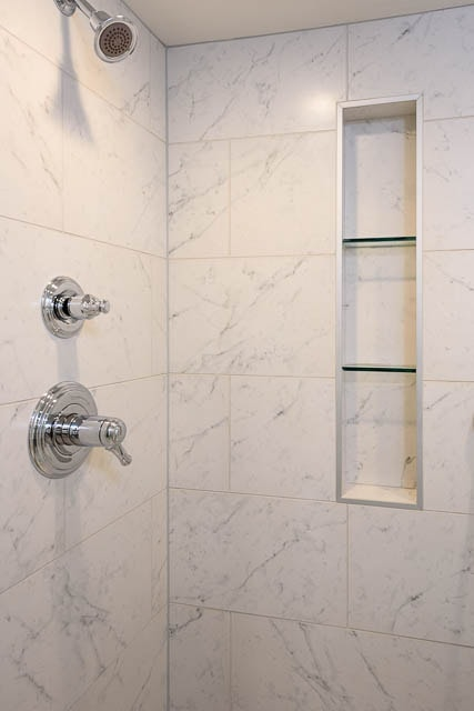 Bathroom Addition Projects in Queen Anne neighborhood of Seattle WA by J and M Remodel-98119-shelves in shower
